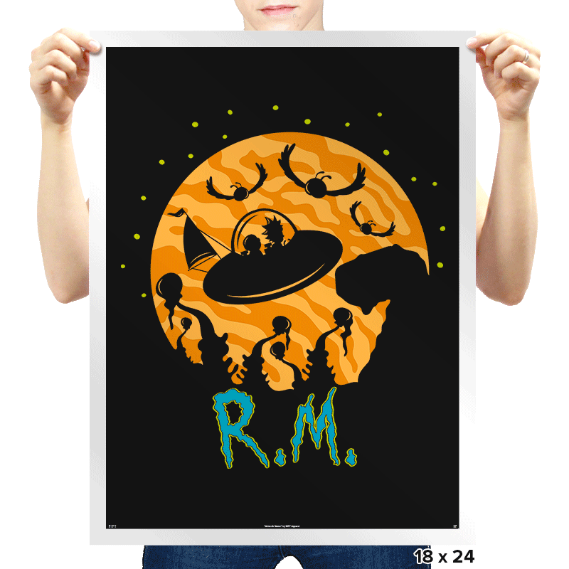 The Extraterrestrials - Prints - Posters - RIPT Apparel