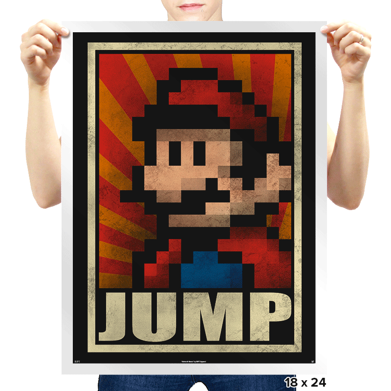 Jump! - Prints - Posters - RIPT Apparel