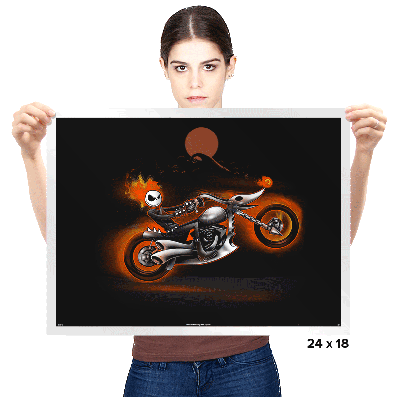 Nightmare Rider - Prints - Posters - RIPT Apparel