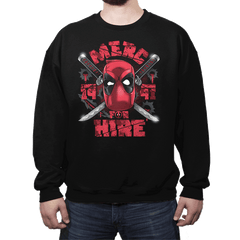 Merc for Hire - Crew Neck - Crew Neck - RIPT Apparel