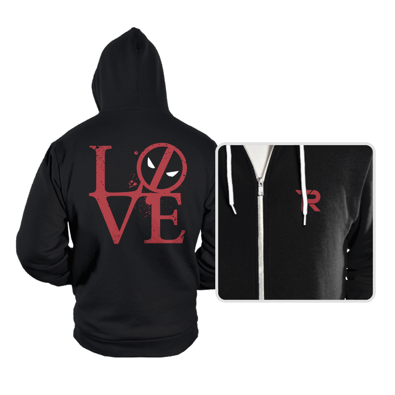 Dead Love - Hoodies - Hoodies - RIPT Apparel