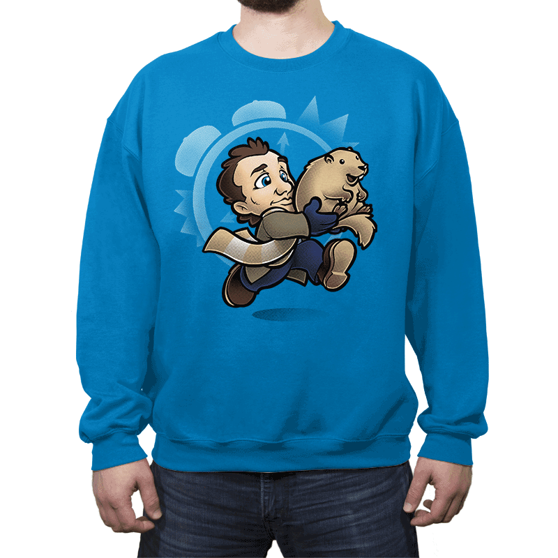 Super Groundhog Bros. - Crew Neck - Crew Neck - RIPT Apparel
