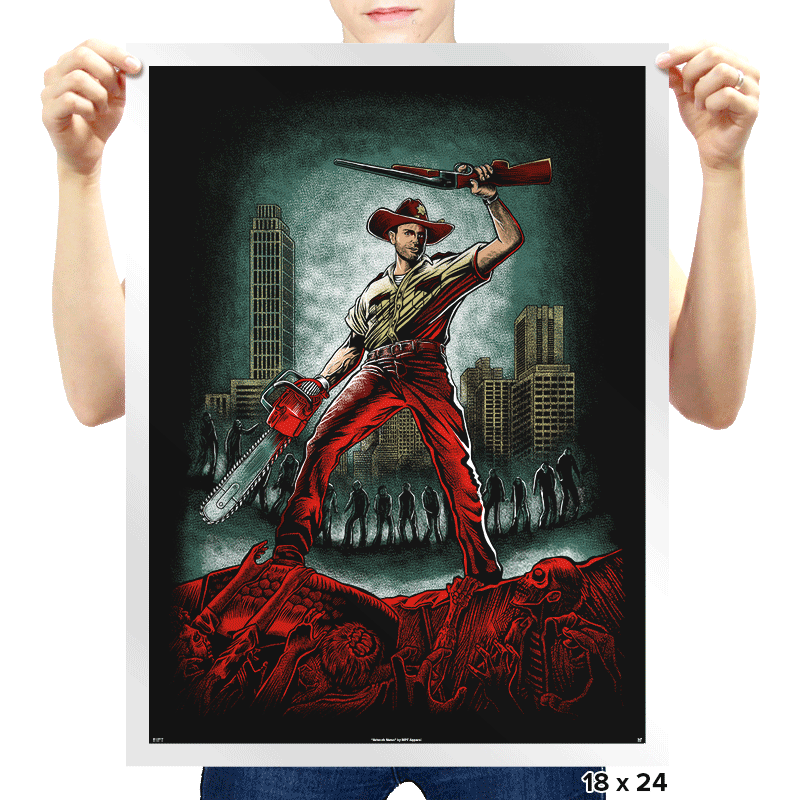 Army Of Walkers - Prints - Posters - RIPT Apparel