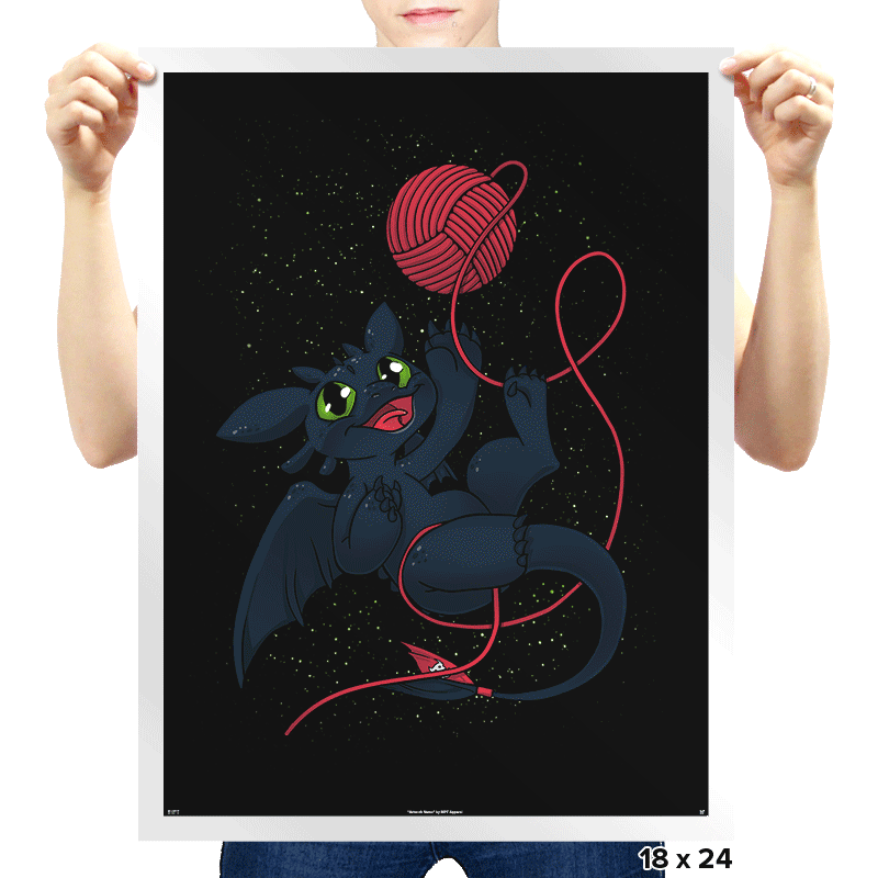 Dragons Just Wanna Have Fun - Prints - Posters - RIPT Apparel