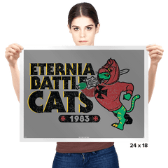 Eternia Battle Cats - Prints - Posters - RIPT Apparel