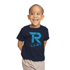 RIPT Halftone Logo - Youth - T-Shirts - RIPT Apparel