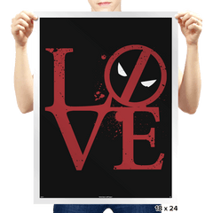 Dead Love - Prints - Posters - RIPT Apparel