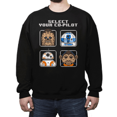 Select Your Co-Pilot - Crew Neck - Crew Neck - RIPT Apparel