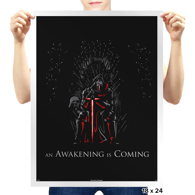 An Awakening Is Coming - Prints - Posters - RIPT Apparel