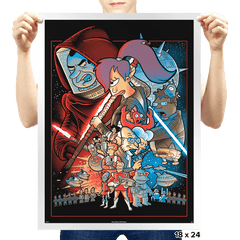Future wars - Prints - Posters - RIPT Apparel