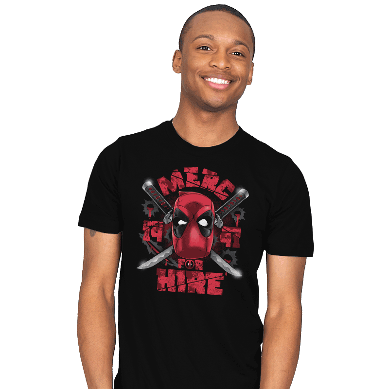 Merc for Hire - Mens - T-Shirts - RIPT Apparel