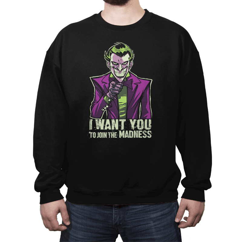 He Wants You - Crew Neck - Crew Neck - RIPT Apparel