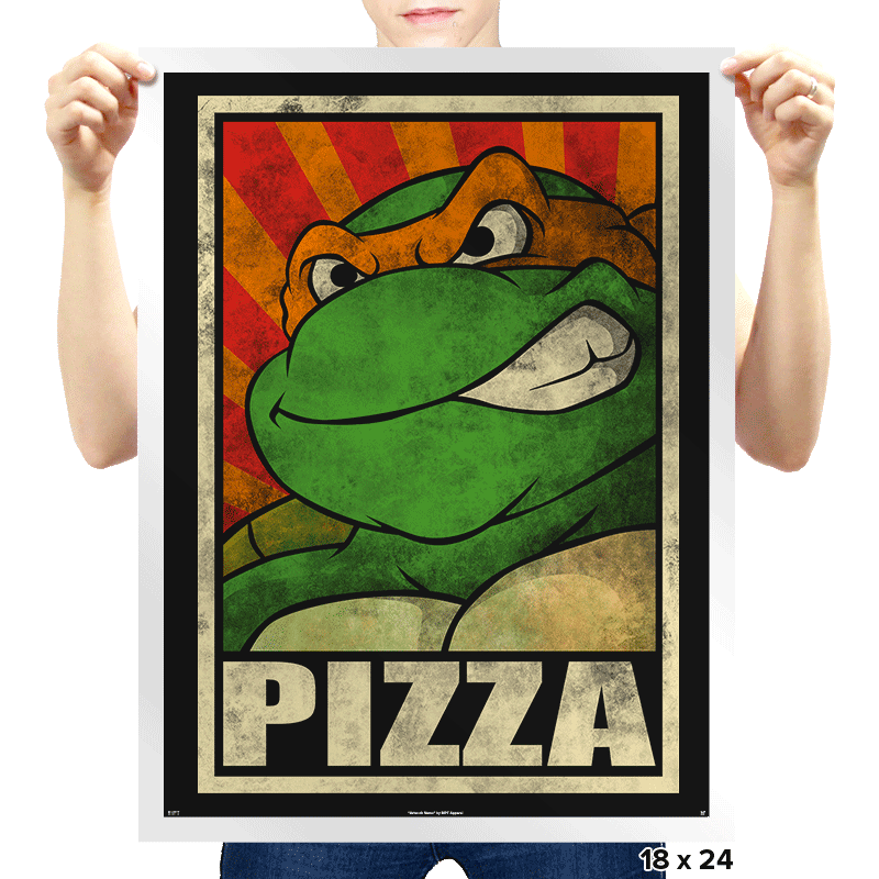 Pizza! - Prints - Posters - RIPT Apparel