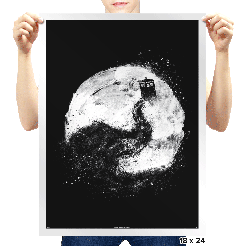 All of Space and Time - Prints - Posters - RIPT Apparel