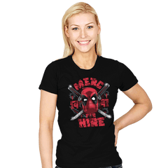 Merc for Hire - Womens - T-Shirts - RIPT Apparel