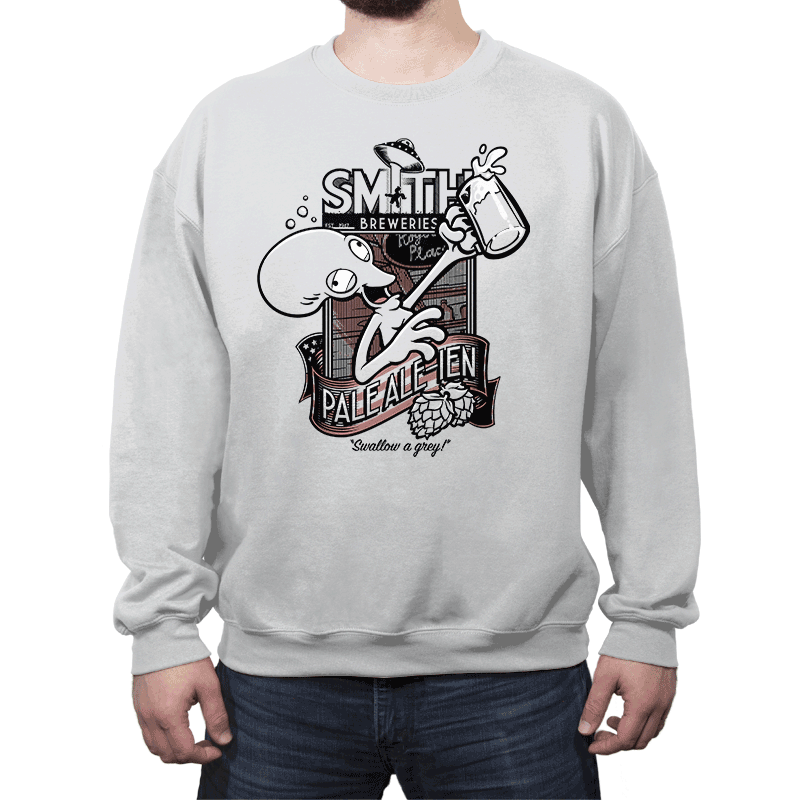 Smith's Pale Ale-ien - Crew Neck - Crew Neck - RIPT Apparel