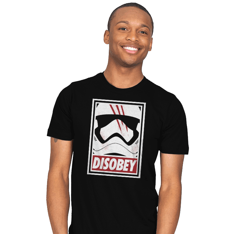Disobey The Order - Mens - T-Shirts - RIPT Apparel