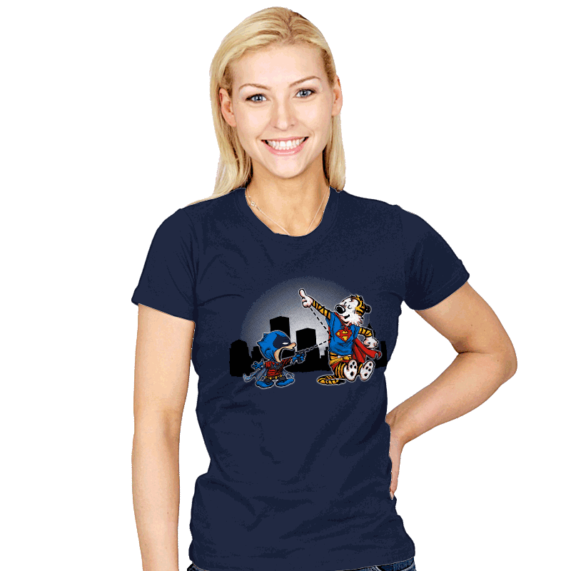 Batmin v Superhob - Womens - T-Shirts - RIPT Apparel