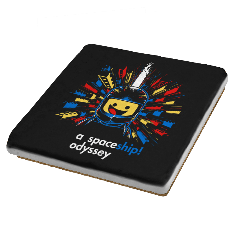 A Spaceship Odyssey Exclusive - Coasters - Coasters - RIPT Apparel