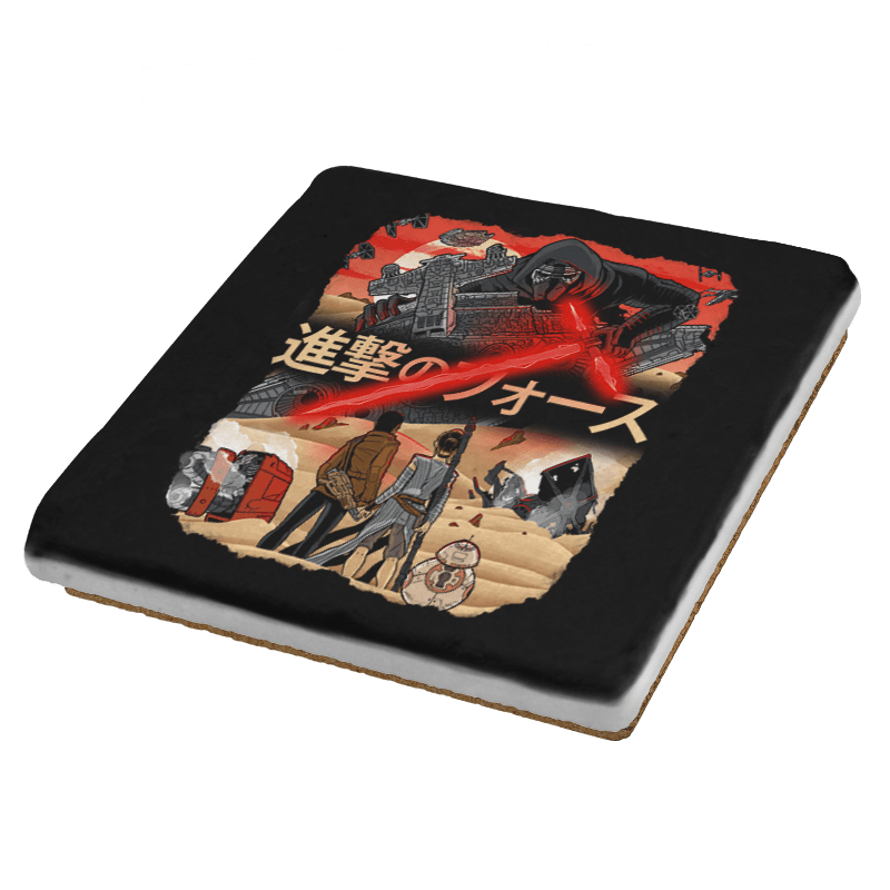 Attack on Jakku Exclusive - Coasters - Coasters - RIPT Apparel