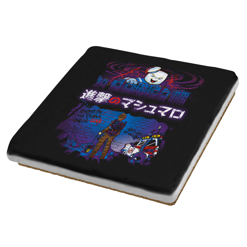 Attack on Marshmallow Exclusive - Coasters - Coasters - RIPT Apparel