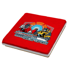 Autobros Before Decepti-foes Exclusive - Coasters - Coasters - RIPT Apparel