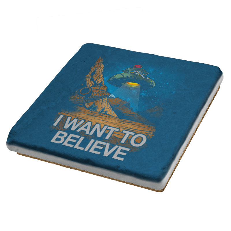 Believe In the Cosmos Exclusive - Coasters - Coasters - RIPT Apparel