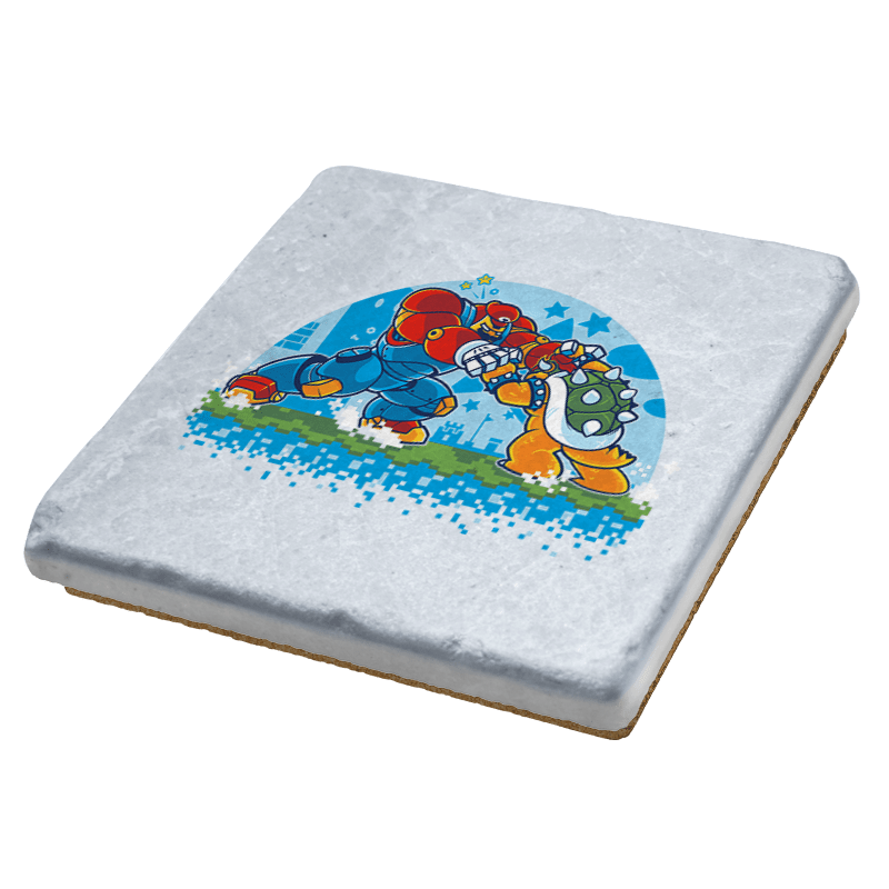 Bowser Buster Exclusive - Coasters - Coasters - RIPT Apparel