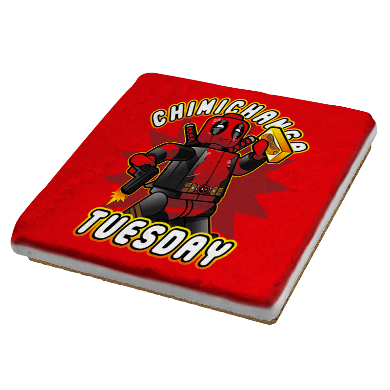 Chimichanga Tuesday Exclusive - Coasters - Coasters - RIPT Apparel