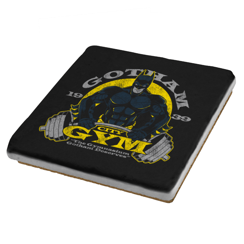 Gotham Gym Exclusive - Coasters - Coasters - RIPT Apparel