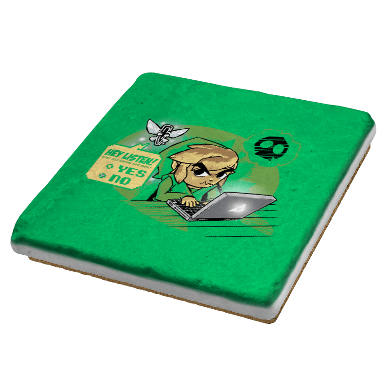 Hyrule Helper Exclusive - Coasters - Coasters - RIPT Apparel