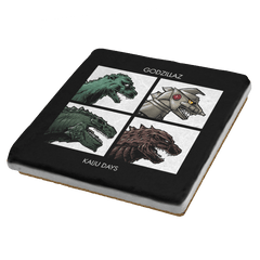 Godzillaz - Kaiju Days Exclusive - Coasters - Coasters - RIPT Apparel