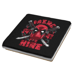 Merc for Hire Exclusive - Coasters - Coasters - RIPT Apparel