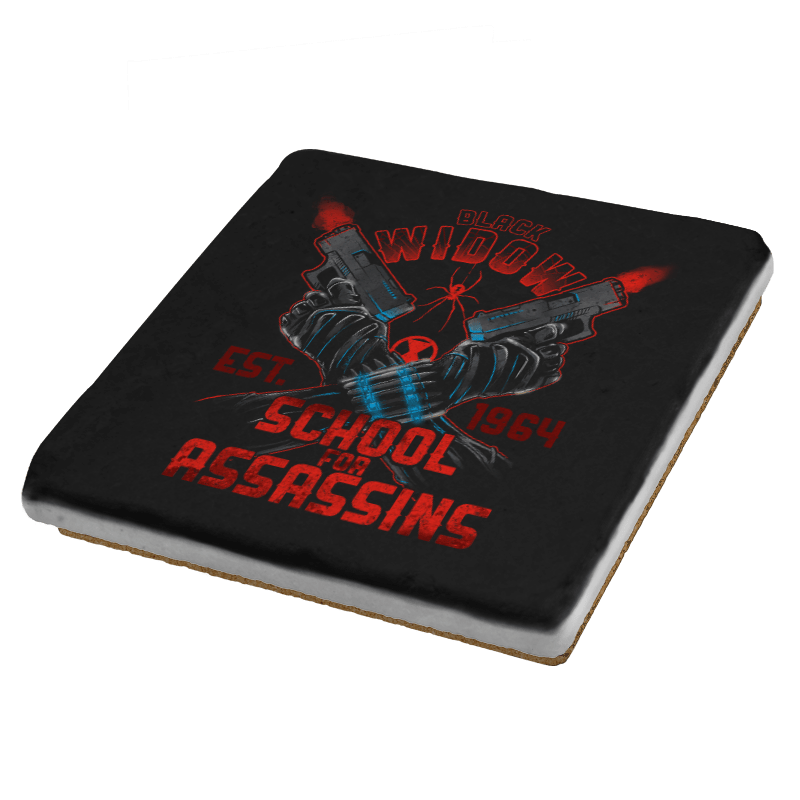 Nat's School for Assassins Exclusive - Coasters - Coasters - RIPT Apparel