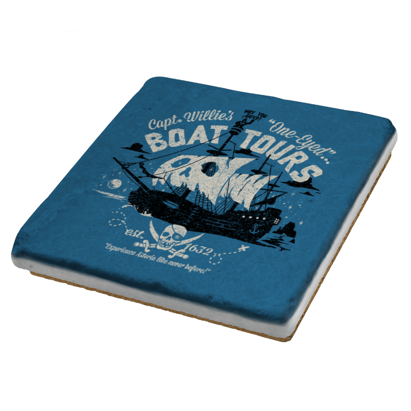 One-Eyed Boat Tours Exclusive - Coasters - Coasters - RIPT Apparel