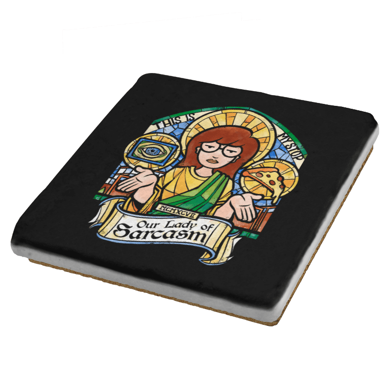 Our Lady of Sarcasm Exclusive - Coasters - Coasters - RIPT Apparel