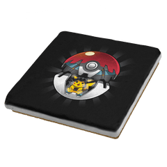 Pika Choose The Dark Side Exclusive - Coasters - Coasters - RIPT Apparel