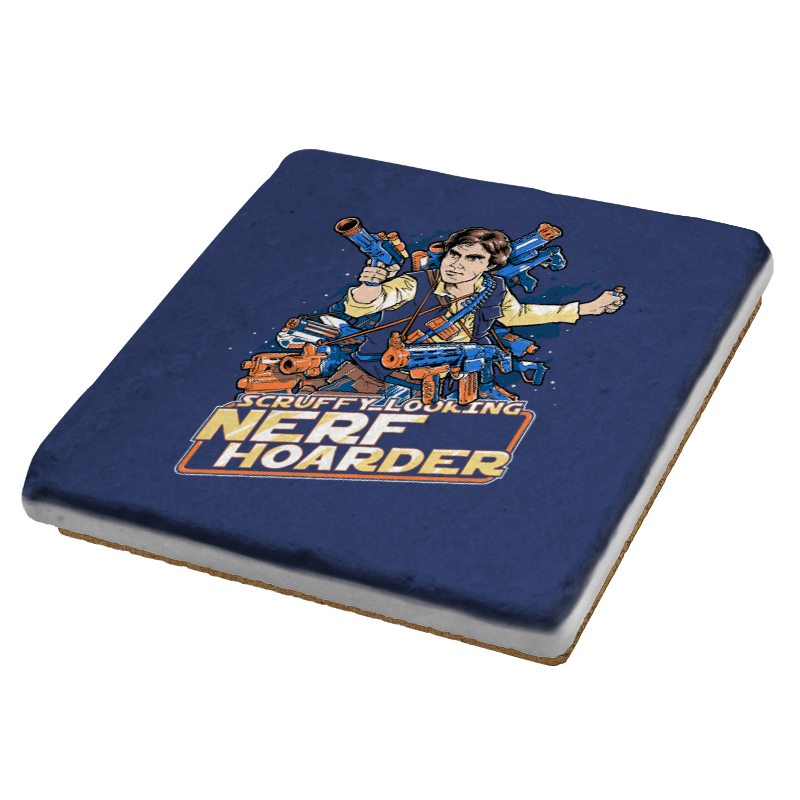 Scruffy Looking Nerf Hoarder Exclusive - Coasters - Coasters - RIPT Apparel