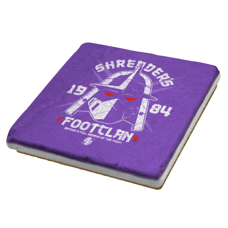 Shredhead's Foot Clan Exclusive - Coasters - Coasters - RIPT Apparel