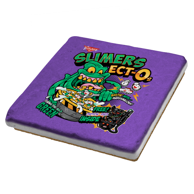 Slimer's Ect-O's Exclusive - Coasters - Coasters - RIPT Apparel