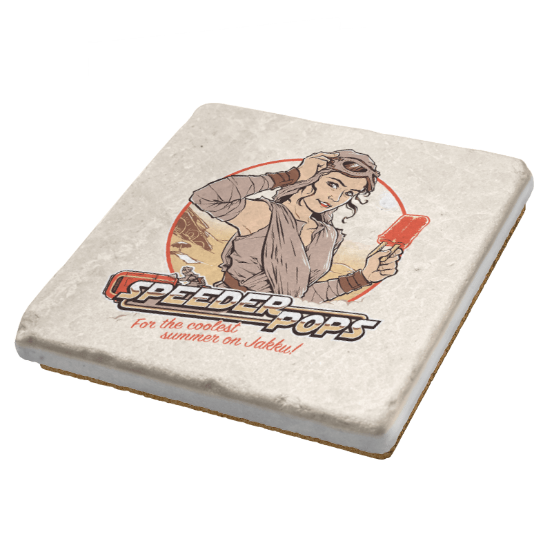 Speeder Pops Exclusive - Coasters - Coasters - RIPT Apparel