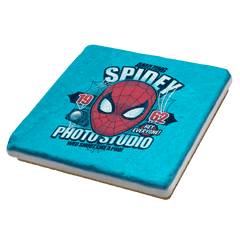 Spidey Photo Studio Exclusive - Coasters - Coasters - RIPT Apparel
