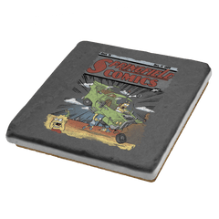 Springfield Comics Exclusive - Coasters - Coasters - RIPT Apparel