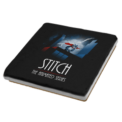 Stitch - The Animated Series Exclusive - Coasters - Coasters - RIPT Apparel