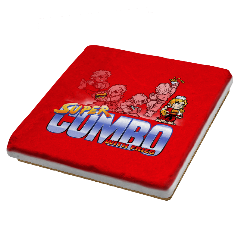 Super Combo With Fries Exclusive - Coasters - Coasters - RIPT Apparel
