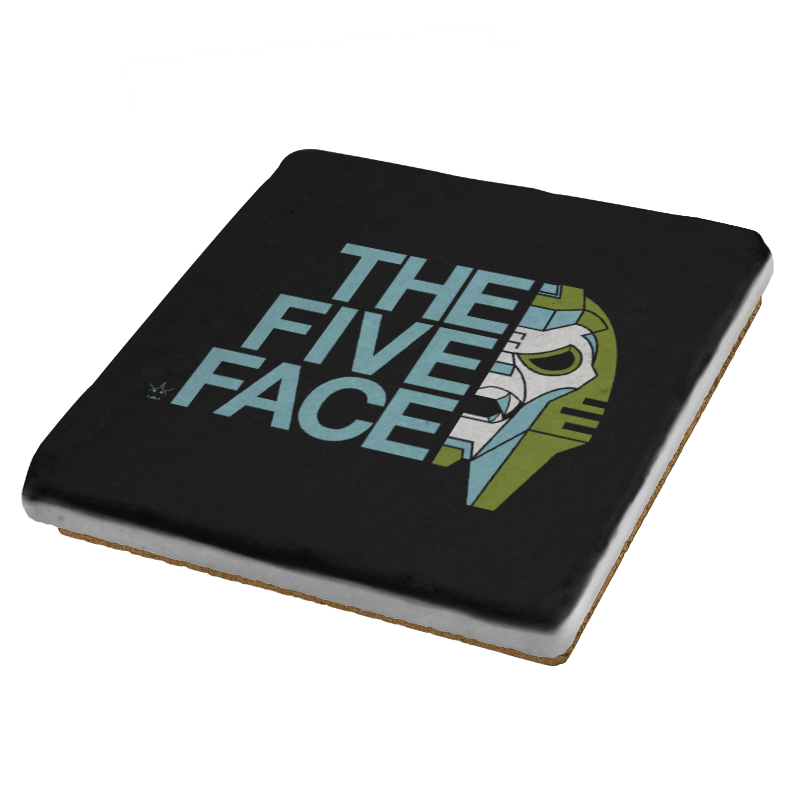 The Five Face Exclusive - Coasters - Coasters - RIPT Apparel