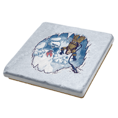 The Wampuft Marshmallow Man Exclusive - Coasters - Coasters - RIPT Apparel