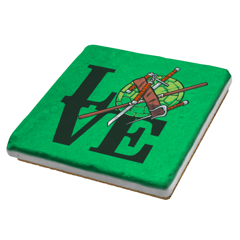 Turtle Love Exclusive - Coasters - Coasters - RIPT Apparel