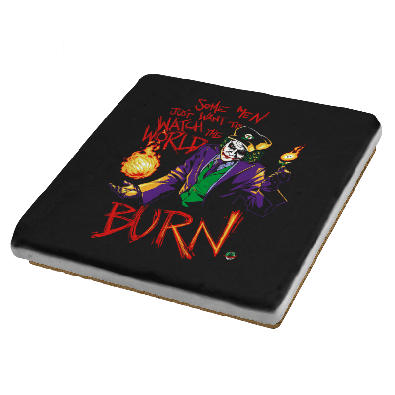 Watch The World Burn Exclusive - Coasters - Coasters - RIPT Apparel