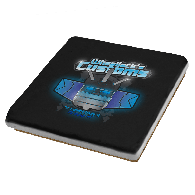 Wheeljack's Customs Exclusive - Coasters - Coasters - RIPT Apparel